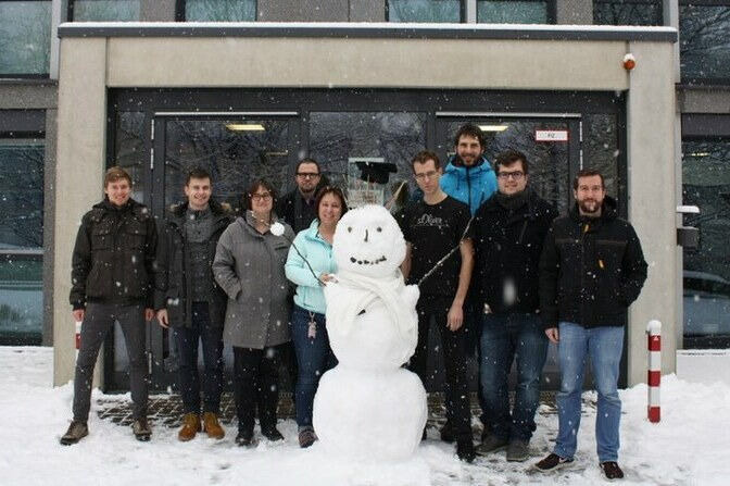 Team in Winter